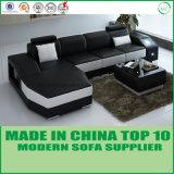 Sofá de canto de couro italiano dos fabricantes Home modernos de China da mobília