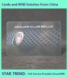 チェーン・ストアのカードはPVCにフルカラープリントをした