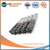 1,0X3X50HRC45 percer 6 solides de la flûte de carbure de plat fin Mills