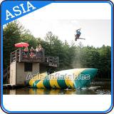 Скакать шарика воды раздувной, раздувная подушка воды, шарики раздувного парка воды скача
