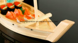 Высокое качество японских суши из светлого дерева и бамбука на лодке суши на лодке