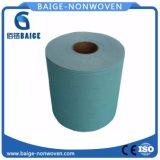 Tessuto non tessuto di PP/Woopulp Spunlace per i Wipes di industria