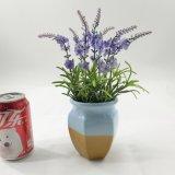 De kunstmatige Purpere Ceramische Bonsai van de Lavendel