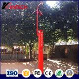 Tour de téléphone sans fil de téléphone GSM d'énergie solaire du public SOS