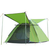 Das 4 Personen-kampierende Zelt, knallen oben Zelt