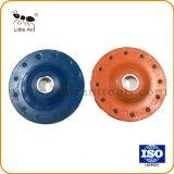 3 인치 다이아몬드 컵 모양 바퀴, 단단한 콘크리트를 위한 회전 숫돌