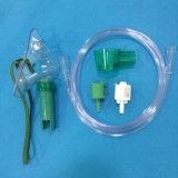 Masque médical réglable de Multi-Évent de masque à oxygène de venturi avec la tuyauterie (transparente)