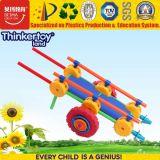 Mini automobile del giocattolo di puzzle di plastica di formazione per l'asilo