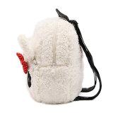 Sacchetto simile a pelliccia all'ingrosso delle ragazze del panda