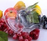 Da caixa descartável da fruta da caixa do corte da fruta fresca caixa transparente da salada da caixa da fruta da caixa da fruta