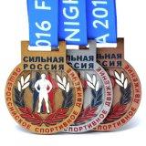 工場直接卸し売りカスタム亜鉛合金デザインはあなた自身の金属メダルを鋳造する