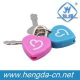 Yh1639 cadenas de plastique, Love Heart cadenas pour la décoration de Noël
