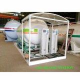 20000 litros de posto de gasolina carimbado ASME do patim do LPG