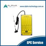 Système à télécommande par radio stable pour Scooptram
