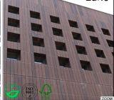 Al aire libre creativa de la pared de bambú es de 8 mm de espesor de revestimiento