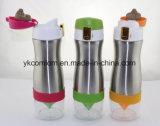 Bevanda di colore della bottiglia di acqua della tazza del limone dell'acciaio inossidabile multi più bottiglia bevente dell'acqua