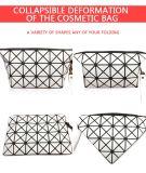 La nuova annata 2016 compone il sacchetto di cuoio multifunzionale dell'unità di elaborazione del sacchetto delle donne del sacchetto degli articoli da toeletta di corsa cosmetica del sacchetto