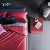 Re rosso Comforter Sets del cotone durevole di lusso della villa