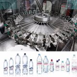 Conjunto completo de llenado automático de botellas de agua pura línea de producción