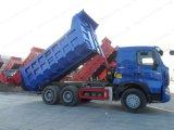 Sinotruk HOWO A7 6X4 380HP 30 톤 무거운 덤프 또는 팁 주는 사람 트럭