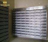Kundenspezifische freie stehende Wohnungs-Mailbox des Edelstahl-304