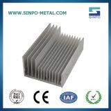 Perfil de dissipador de calor em alumínio personalizadas
