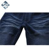 Pantaloni del denim di stirata del ragazzo con il tessuto più spesso del Waistband/variopinto della nervatura spazzolato all'interno