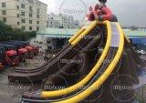 Trasparenza gigante della sosta dell'acqua della trasparenza del Tripple del PVC Inflatale per la sosta adulta