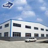 Almacén ligero respetuoso del medio ambiente de la estructura de acero del bajo costo hecho en China