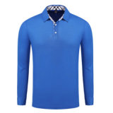 Рубашки поло оптовая торговля Китая, 100% мужчин Хлопок рубашки рубашки поло