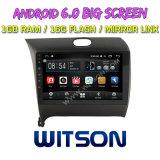 "Grand écran 9"" Witson Android 6.0 DVD pour voiture KIA K3 2016"