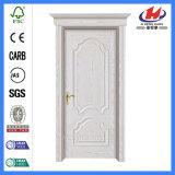 Дверь картины нутряного входа твердой древесины деревянная белая (Jhk-M02)