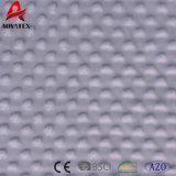 Couvertures 100% de Micromink Sherpa de bulle de pression de polyester dans le bleu
