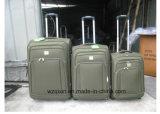 Niedrigstes veranschlagtes EVA-Laufkatze-Gepäck 3pieces eingestellt mit 2 grossen Rädern