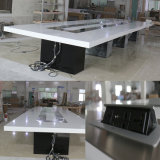 Table de réunion moderne multifonctionnelle de meubles de bureau de Tableau de modèle d'OEM de qualité