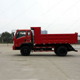 中国4X2 8tonのダンプの/Tipperの軽トラック