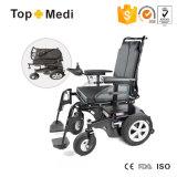 2017販売のための電力の車椅子を折る無効鋼鉄にハンディキャップを付けた