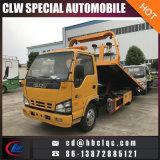 Isuzu 5ton 도로 구조 평상형 트레일러 구조차 견인 트럭