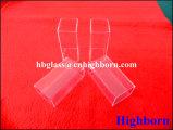 Tubo de cristal de cuarzo del cuadrado de la pureza elevada