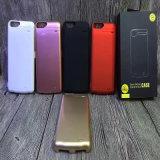 Batería sin hilos de la potencia de la caja de batería del cargador del teléfono móvil para el iPhone 6/7/Plus