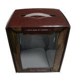 Caixa de Papelão impresso a Cores Personalizadas com pega de plástico