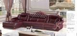 Hall d'hôtel le mobilier canapé en cuir personnalisé (A842)
