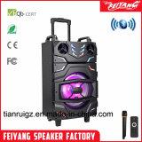 Novas chegadas recarregável de 10 polegadas Grande Potência Lound Carrinho ativo alto-falante Bluetooth portátil ---F10-22