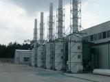 Torretta bagnata dell'impianto di lavaggio per la gestione dei rifiuti