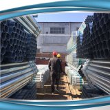 Tubo del andamio BS1139 (acero galvanizado) - los 6.0m x 4m m x 48.3m m (los 20FT)