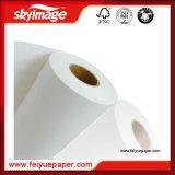 Papier de transfert de sublimation de roulis enorme 1.62m