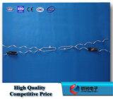 Doppia riga d'acciaio Alluminio-Placcata legame della parte superiore del legame