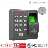 キーパッド及びIDの読取装置との指紋のアクセス制御
