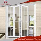 Puerta BI-Plegable de aluminio modificada para requisitos particulares alta calidad