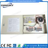 12 В постоянного тока 5 А 9-канальный источник питания для камеры CCTV Premium (12В постоянного тока5A9PN).